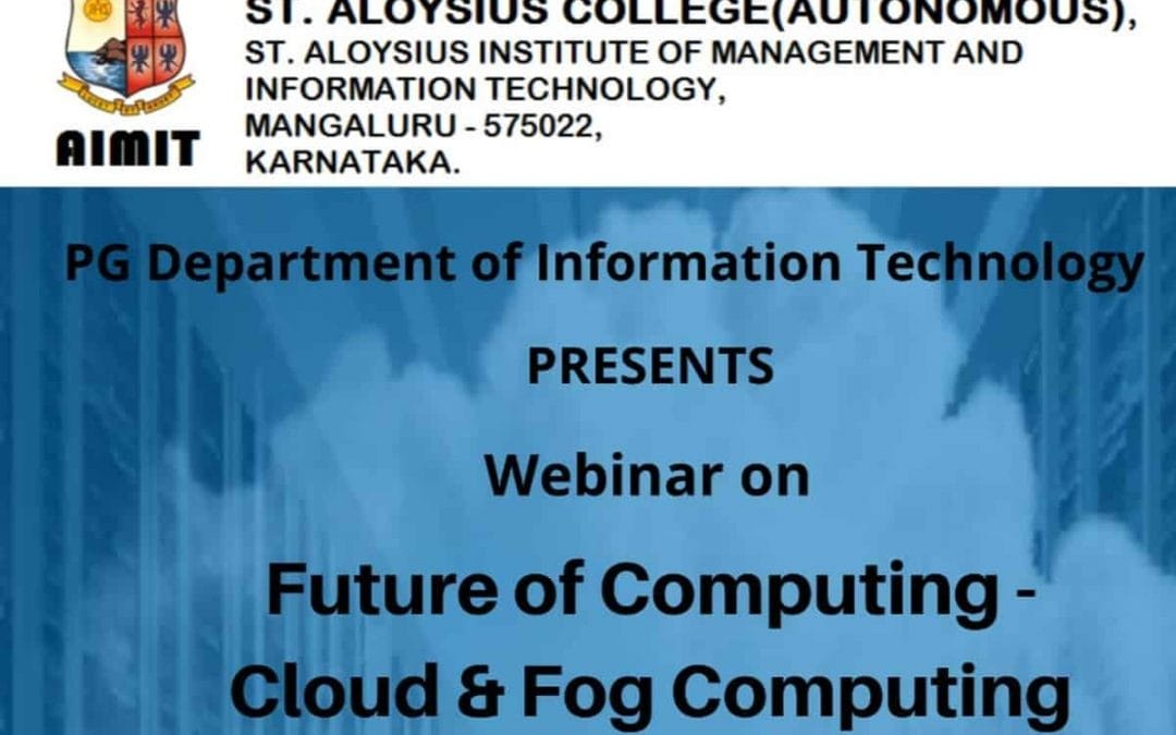 IT department conducts webinar series
