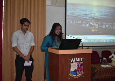 Faculty Development Programme at AIMIT