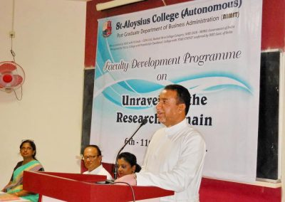 Inaugural of Faculty Development Program held on 6th Aug., 2018