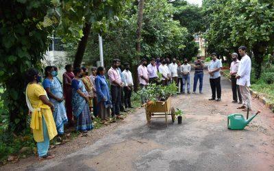 Adopt a tree: Plantation drive at AIMIT
