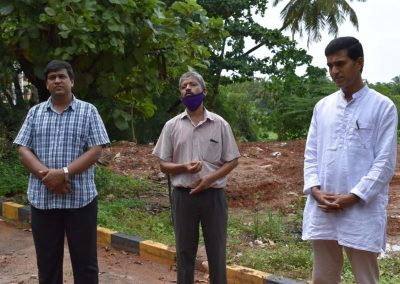 Adopt a tree: Plantation drive at AIMIT