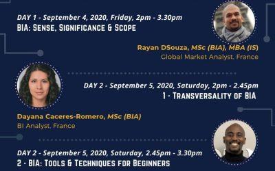 "International Webinar on ""Business Intelligence & Analytics (BIA) for Smart Decision Making"