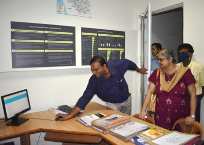 Mangalore University team inspects AIMIT for research centre status