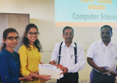 MCA students complete sponsored project