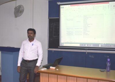 MS excel course for MBA students