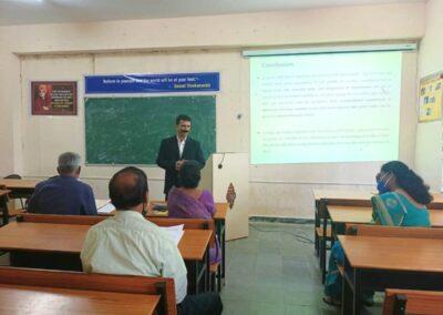 Rakesh Kumar B of AIMIT awarded PhD