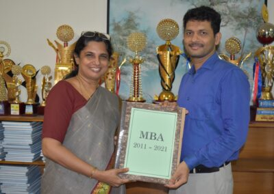 Dr Dhananjaya takes charge as new dean of MBA