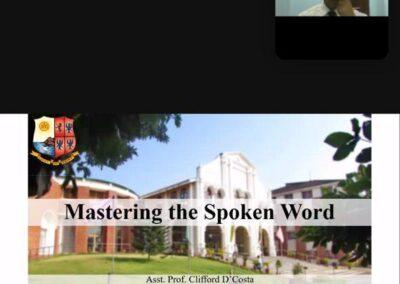 'Mastering the word' webinar held