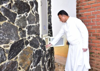 Newly constructed grotto inaugurated at AIMIT