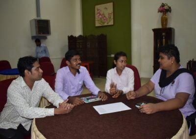 Non-teaching staff attend one day orientation